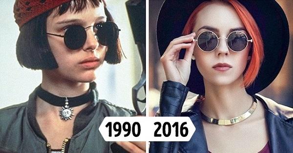 Очки в стиле 90-х 2018