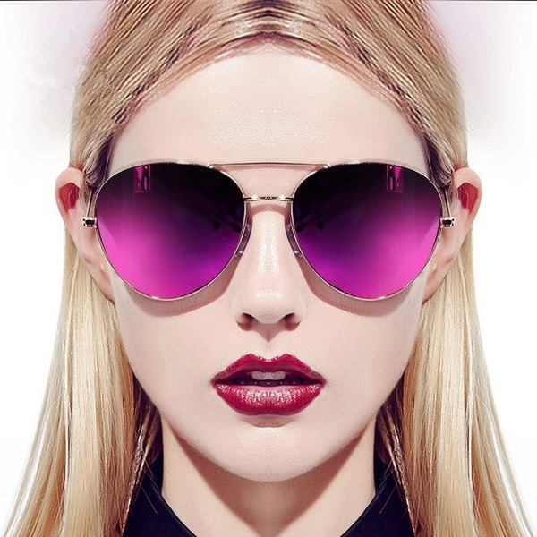 Женские очки с цветными линзами 2018