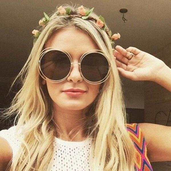 Солнцезащитные круглые очки 2018